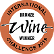 International Wine Challenge Bronze 2019