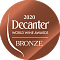 Decanter World Wine Awards 2020 Bronze