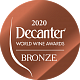 Decanter World Wine Awards 2020 Bronze
